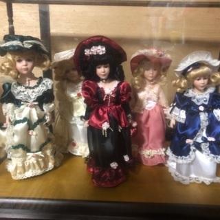 西洋人形 5体セット