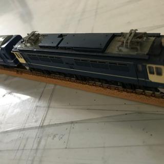 Nゲージ 4両セット(青) ジャンク品
