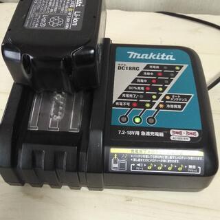 makita 18v 純正バッテリー、充電器セット