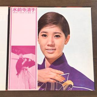 水前寺清子 『涙を抱いた渡り鳥』から『艶歌』まで LP レコード 2枚組 - 本/CD/DVD