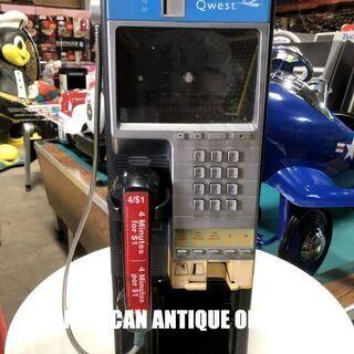 非売品 本物!! アメリカの公衆電話 USA直輸入  店舗引き取...