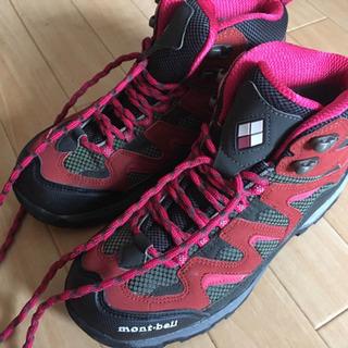 モンベル 登山靴
