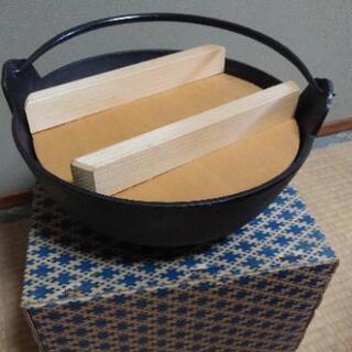 【断捨離中】鉄鍋 箱付
