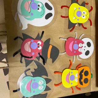壁面飾り ハロウィン かびるんるん6枚 ラミネート
