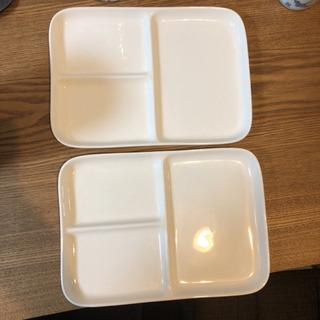 【交換可】無印良品 プレート皿 2枚
