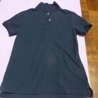 ユニクロSサイズ 紺色 ポロシャツ