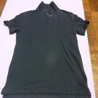 ユニクロSサイズ 黒色 ポロシャツ