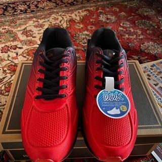 赤色スニーカー26.5センチ