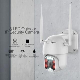 【決定済】【2台セット】防犯カメラ 監視カメラ 屋外 高画…