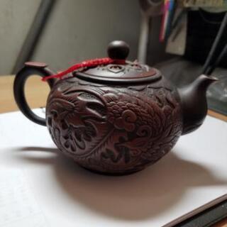 激渋 龍の茶器 - 京都市