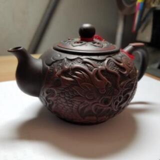 激渋 龍の茶器の画像
