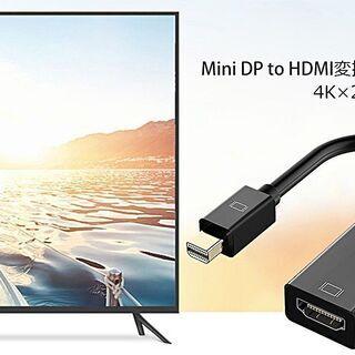 Mini DisplayPort to HDMI変換ケーブル 高...