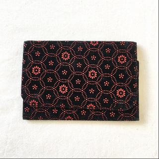 【和柄・和雑貨・和小物】印伝風 カードケース パスケース