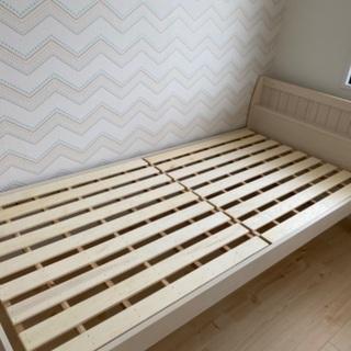 未使用シングルベッド