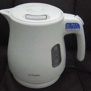 【恵庭】⓼ タイガー/TIGER 電気ケトル わく子 0.8L ...