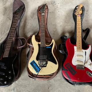 ギター3本