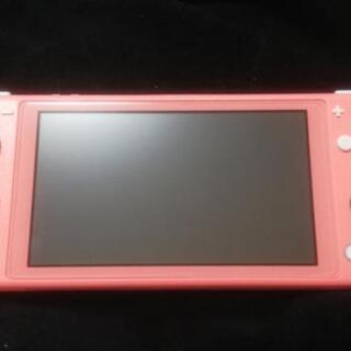 値下げ switch light ピンク おまけあり