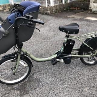 《最終値下げ》 Gyutto クルームDX カーキ 電動自転車