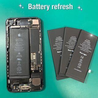 iPhoneのバッテリー交換ならアイサポ郡山店へご相談ください!