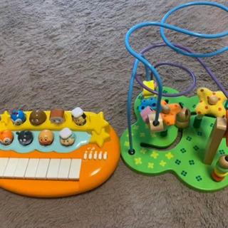 値下!アンパンマン ピアノ + おさんぽくまさん