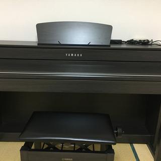 YAMAHA 電子ピアノ 黒木目調