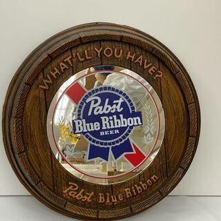 パブミラー PABST Blue Ribbon Bear(パブス...