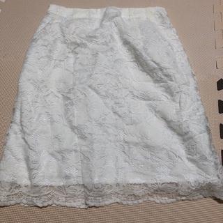 MERCURYDUO レースタイトスカート
