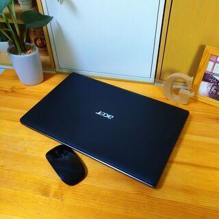 core5で大容量500Gの高性能Acer♪ 極美品! 最新Wi...
