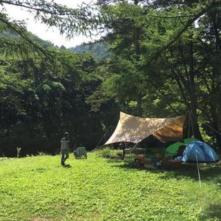 渓流釣りキャンプ