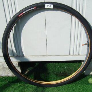 24インチ自転車用タイヤ(黒)