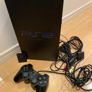 【使用品】Play Station2 本体&ソフト9本