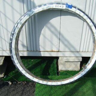 24インチ自転車用タイヤ2本セット(白)