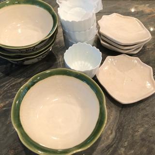 皿 器 3種類セット 自由が丘 300円