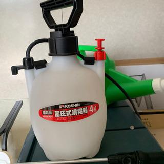 家庭菜園用 ジョーロ、蓄圧式噴霧器 - その他