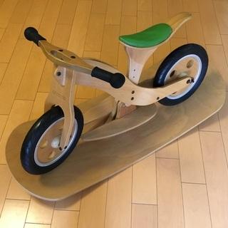 3日間限定🎄『Woody Bike』HOPPL (ナチュラル) ...