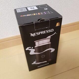 ネスプレッソ エアロチーノ3 ブラック