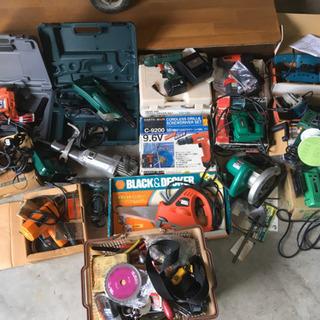 大量 電動工具 まとめ ドリル グラインダ サンダー ジグ…