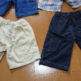 男児用①半ズボン110cm - 売ります・あげます