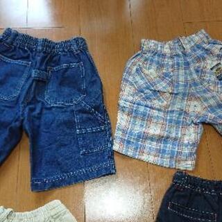 男児用①半ズボン110cm - 子供用品