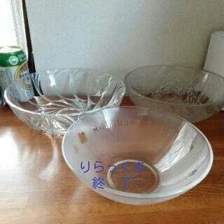 ガラス鉢 4種アリ【ムベのキッチン#ギヤマン】