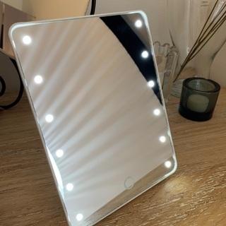 『新品』LED付きミラー