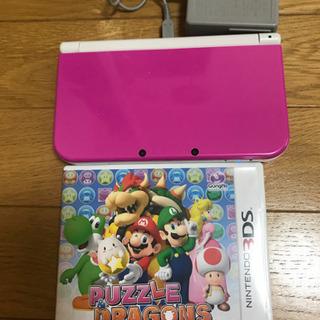 任天堂3DSLL本体、ソフト1本