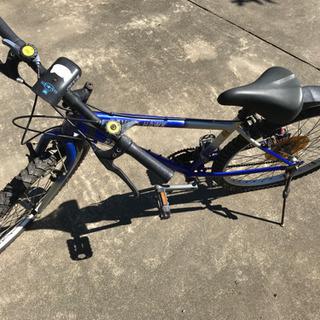 取引中 SHIMANO 変速付きマウンテンバイク
