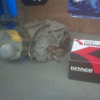カブAA01エンジン キタコ75CCボアアップキット付き