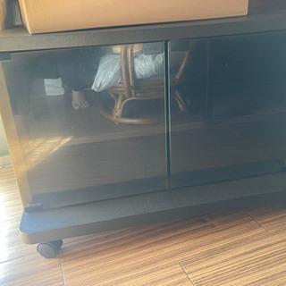 【月末まで】テレビ台 収納スペースあり