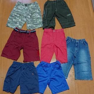 男児用半ズボン&ハーフパンツ120cmの画像