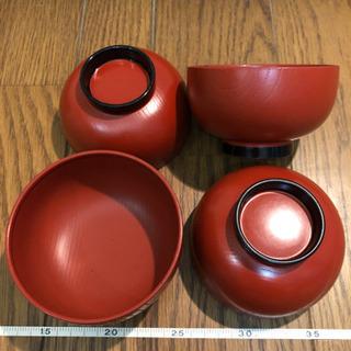 味噌汁用茶碗5個