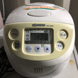 0905-112 象印炊飯器 NS-UB05 2012年 3合炊き