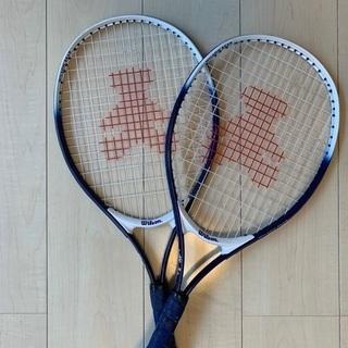 ウィルソン wilson テニスラケット 幼児〜低学年用 2本セット