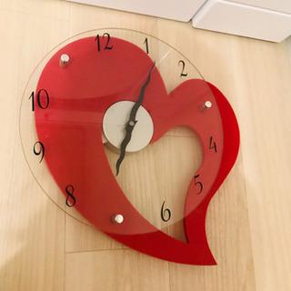 ハート時計